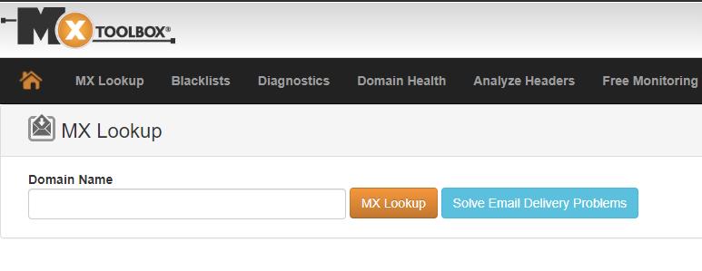 MX toolbox email blacklist checker