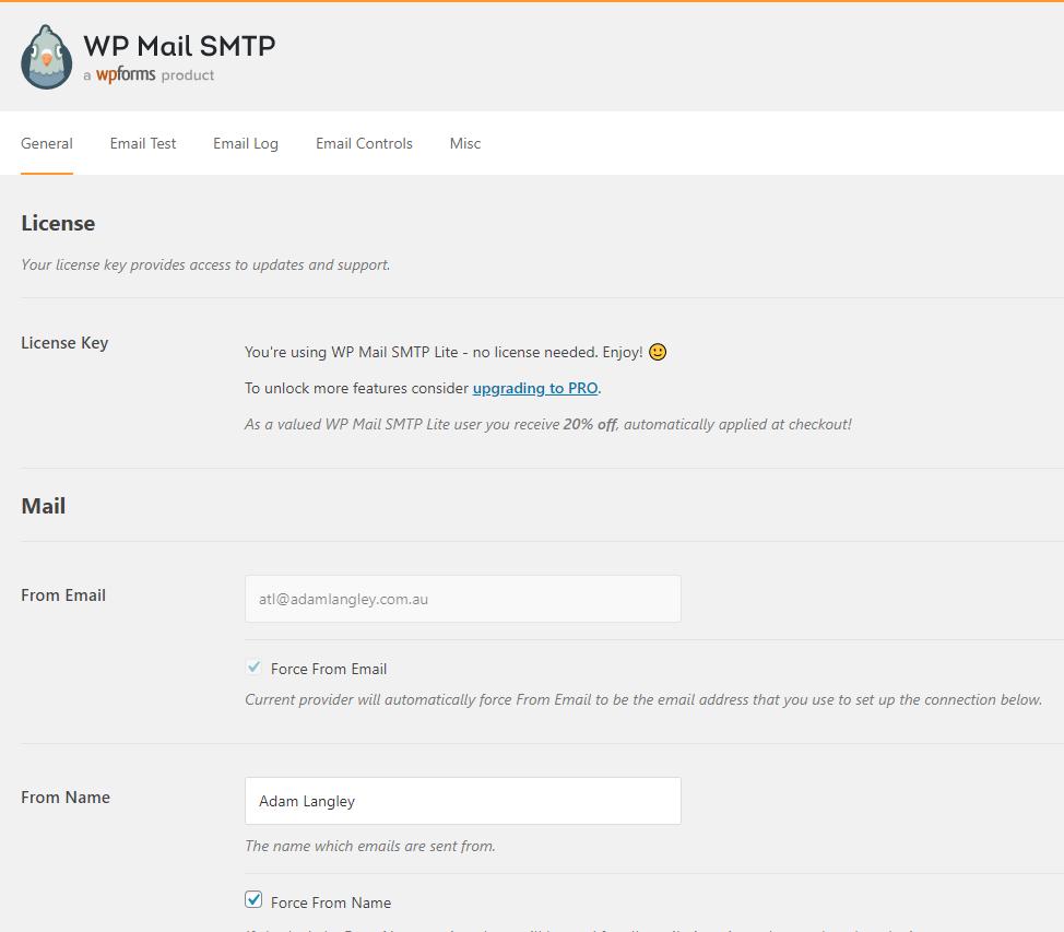 WP Mail SMTP Email Setup